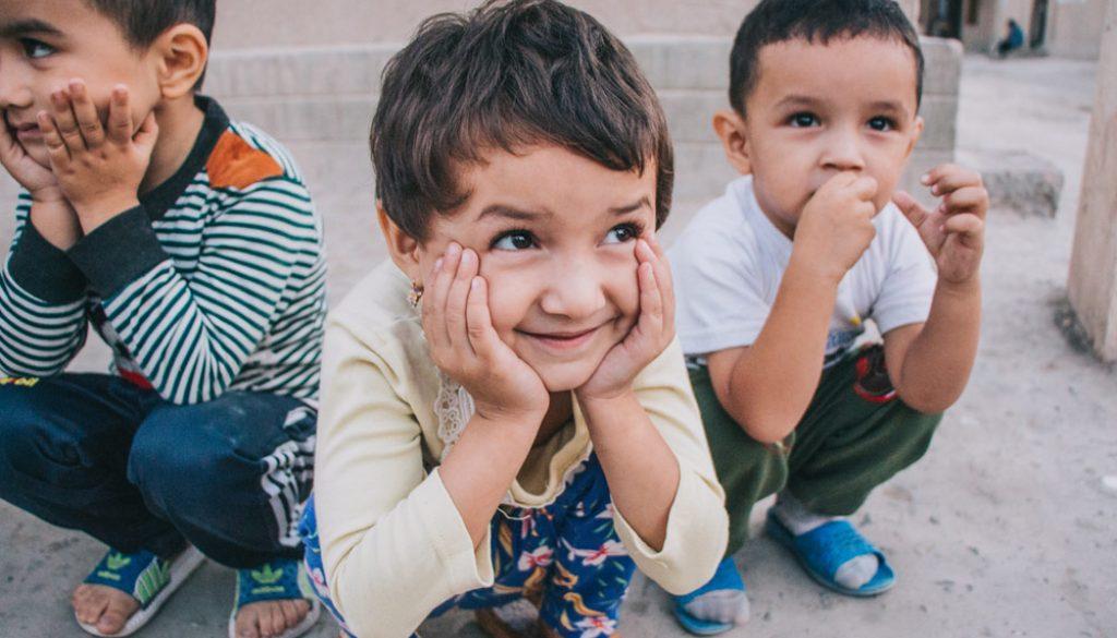 Fundraising for child refugee